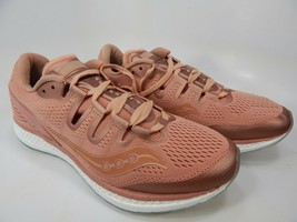 Saucony Freedom Iso Taille 9 M (D) Ue 42,5 Homme Chaussures Course Saumon