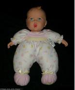 "13"" VINTAGE 1995 TOY BIZ GERBER BABY GIRL DOLL STUFFED ANIMAL PLUSH PINK... - $27.12"