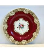 Vintage Crown Staffordshire Porcelain Dinner Plate A14241 - $74.25