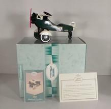 Hallmark Kiddie Car Classics 1935 STEELCRAFT AIRPLANE in Box with COA Di... - $29.65