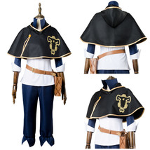 Black Clover Asta Bull Cosplay Costume Outfit Suit Jacket Headband Cape Uniform - $75.96+