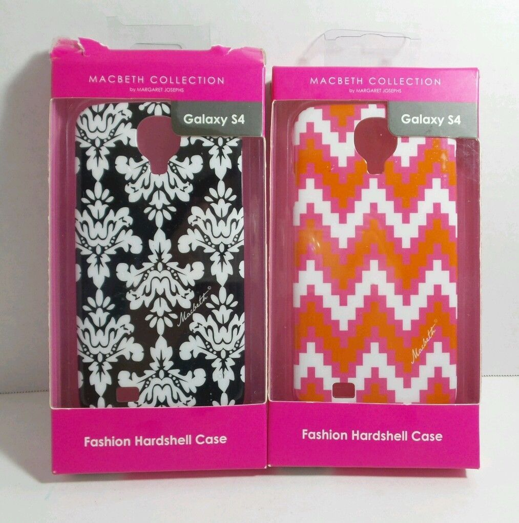 GALAXY S4 HARDSHELL CASE MACBETH COLLECTION (LOT OF 2)