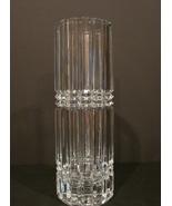 Montparnasse By Cristal D'Arques-Durand France Crystal Flower Vase 11 ... - $39.90