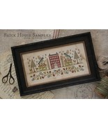 Brick House Sampler cross stitch chart  With Thy Needle  - $12.00