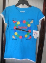 womens t shirt size large or medium nwt twister game on front - $14.54