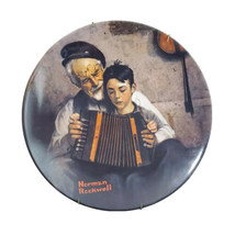 "Norman Rockwell The Music Maker 1981 Knowles China Plate 8.5"" Round P4743 - $29.39"