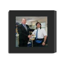 Framed The Office Michael Scott Ed Truck Dunder Mifflin Replica Prop Pho... - $39.98