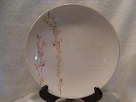 Dansk China white dinner plate Blossom pattern hand painted. - $15.00