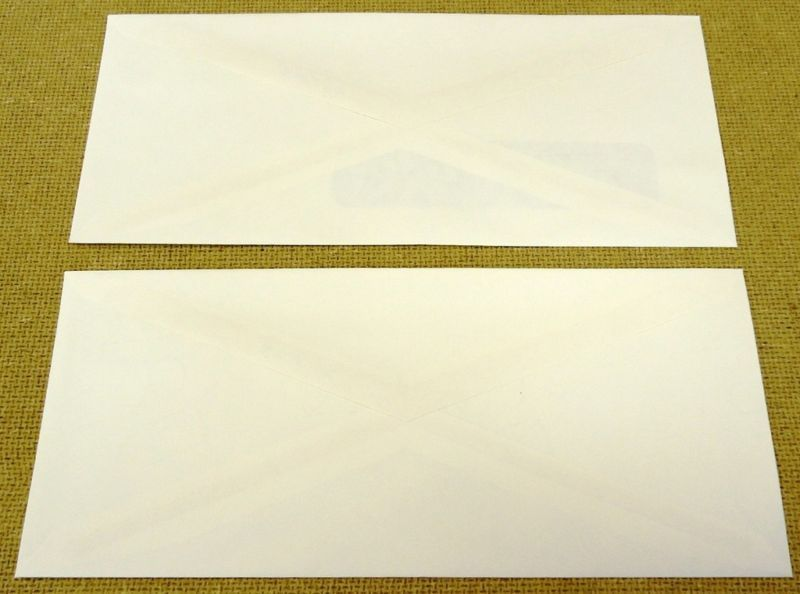USPS Scott UO074 22c Legal Envelope Official Mail Lot of 2 Blue