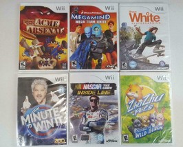 Mega Nintendo Wii Gaming Pack 6 Different Games Brand New Individual Pac... - $35.64