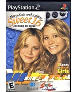 Playstation 2 - Mary-Kate & Ashley Sweet 16 Licensed To Drive - $9.00