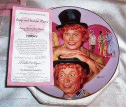 "Lucy & Harpo Marx From 'Lucy Meets the Stars"" By Morgan Collectible Plat... - $19.80"