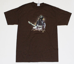 Jimi Hendrix-Backlit Stage Image-Brown T-shirt - $9.99