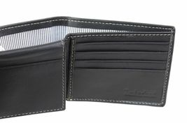 Timberland Men's Genuine Leather Passcase Credit Card Id Billfold Wallet image 6