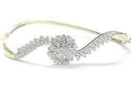 18Kt Circular Redondo Corte Diamante Oro Amarillo Pulsera 1.08Ct E-VVS2 ... - $1,923.06