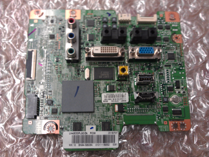 BN94-09828A Main Board From Samsung LH40EDDPLGC/ZA XS04 LCD TV