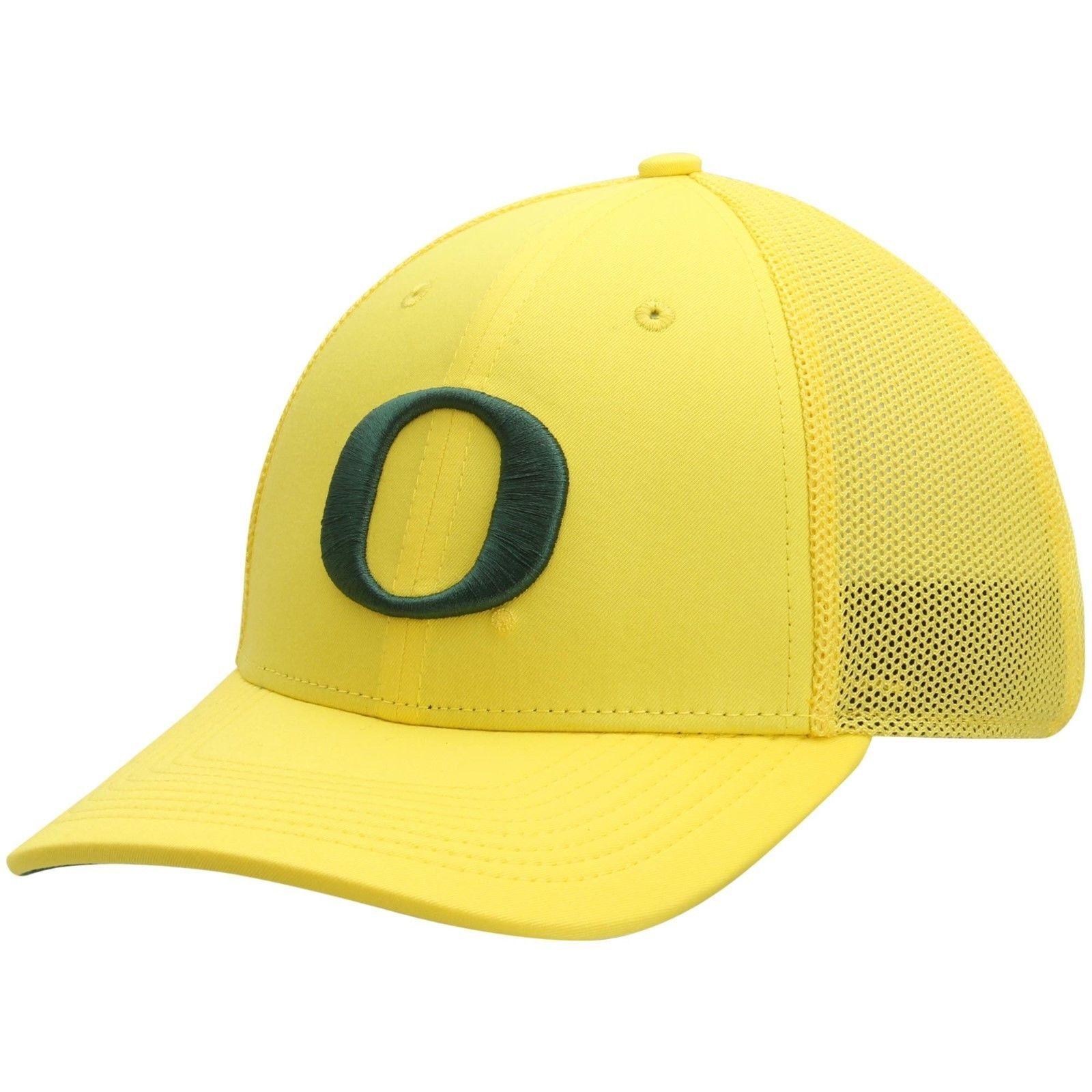 online store d375b eb151 NWT New Oregon Ducks Nike Dri-Fit Legacy91 Mesh Back Yellow Flex-Fit Hat