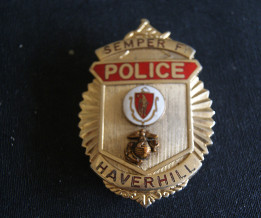 Haverhill Massachusetts Police badge, Custom and 50 similar