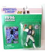 TROY AIKMAN Dallas Cowboys NFL Starting Lineup SLU 1996 Action Figure & Card VTG - $26.68