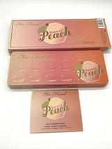 Too Faced ~ Sweet Peach ~ Eye Shadow Palette ~ Authentic!!! Bnib Us Seller - $37.53