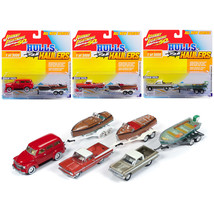 Hulls & Haulers Series 1, Set B of 3 Cars Limited Edition to 3,000 piece... - $60.49