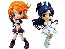 Pretty Cure Q posket CureBlack + CureWhite 2set figure - $70.73