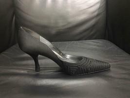 Stuart Weitzman Black Satin Dress Pumps - Size 6 - $46.00