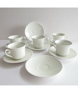 Wedgewood Hedge Rose Cups Saucers Vintage China Dinnerwear No Chips Cracks - $22.14