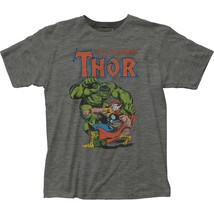 Authentic Marvel Comic The Mighty Thor Vs Incredible Hulk T-shirt S M L ... - $403,37 MXN+