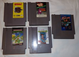 Nintendo Spiele Vtg Teenage Mutant Ninja Turtles Werwolf Last Warrior Po... - $27.57