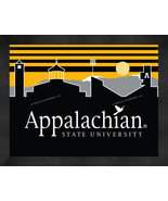 Appalachian State Mountaineers 13 x 16 Uscape with Retro Skyline Framed ... - $39.95