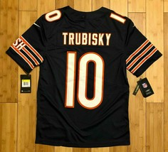 NIKE Chicago BEARS TRUBISKY Mens Size Small Vapor Untouchable Jersey 819... - $58.29