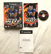 ⭐ NFL Blitz 2003 (Nintendo GameCube 2002) COMPLETE in Box Game Manual Wo... - $15.99