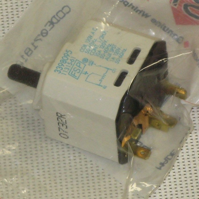 Primary image for 3398095 WHIRLPOOL Dryer push-to-start switch