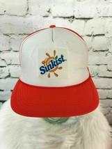 Sunkist Unisex Snapback Hat Orange Foam Front Meshback Adjustable Ball C... - $22.76