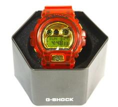 NEW Rare G-Shock DW-6900BR-5 Garish Transparent Red Watch - $112.20