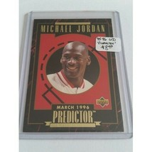 1995-96 Upper Deck Predictor Player of the Month R4 Michael Jordan Chica... - $4.04