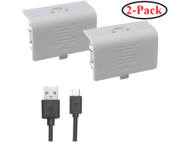 Xbox one Rechargeable Battery 2 Pack 2x800mAH NI-MH for Xbox One Elite/ ... - $23.74