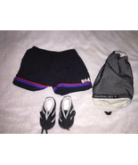 American Girl Go USA Soccer Outfit Shorts Cleats Bag - $16.95