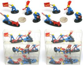 24pc 1998 TYCO Hot Wheels Kyle Petty #44 HO Slot Car Racing PIT CREW Scene 33569 - $17.81