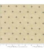 Fabric-Moda Fabric-Once Upon A Memory-Natural Foulard-Holly Taylor #6736-12 - $9.95