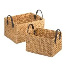 Wicker Storage Baskets Duo - $59.95