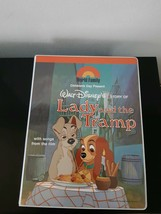 Walt Disney's Story Of Lady And The Tramp World Family Cassette Tapes With Book - $23.50