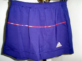 Women's Adidas Climacool Purple Tennis Athletic Skort Size Small - $27.71