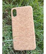 EcoQuote iPhone X  Ecofriendly Handmade Phone Case Cork Finishing for Vegan - $26.00
