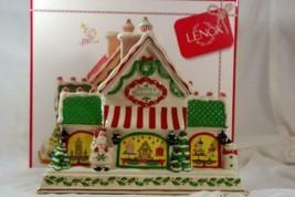 "Lenox 2019 Bake Shop Musical Center Piece 12"" NIB - $152.45"