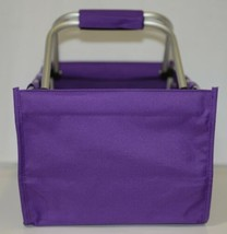 WB Brand MarketPur Large Purple Market Tote Collapsible image 2