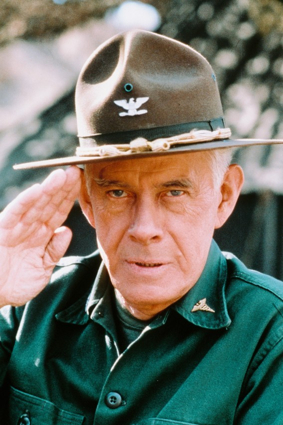 Primary image for Harry Morgan in MASH 18x24 Poster