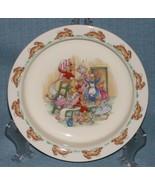 Royal Doulton Bunnykins- Baby Plate /Child's Bowl -Home Decorating Wallp... - $6.95