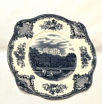 """Johnson Brothers Old Britain Castles Blue Made In England 7.5"""" - $9.85"""